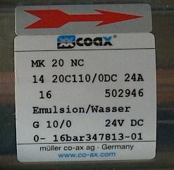 COAX MK20NC